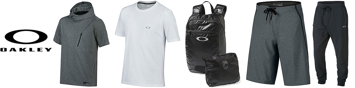 Oakley technical & workout wear available at Swiss Sports Haus 604-922-9107.