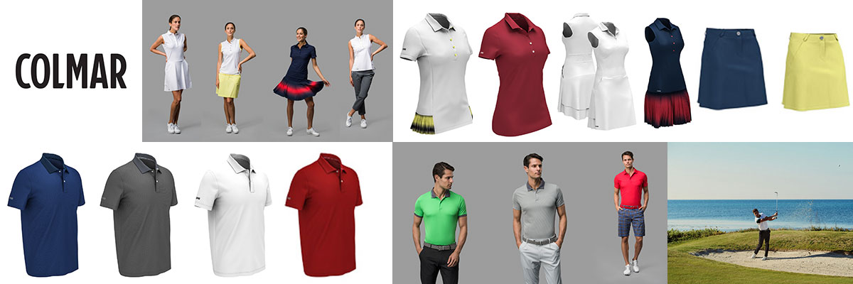 Colmar from Italy mens & womens golf and tennis wear available at Swiss Sports Haus 604-922-9107.