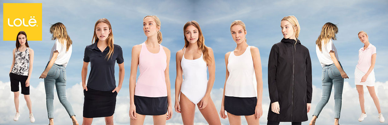 Lole Active & Swimwear available at Swiss Sports Haus 604-922-9107.