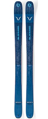 2020 Blizzard Rustler 10 skis on sale at Swiss Sports Haus 604-922-9107.