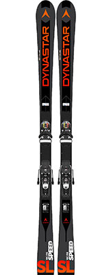 2020 Dynastar Speed WC FIS SL skis & bindings on sale at Swiss Sports Haus 604-922-9107.