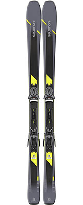 2020 Salomon XDR 80 ST C skis & bindings on sale at Swiss Sports Haus 604-922-9107.
