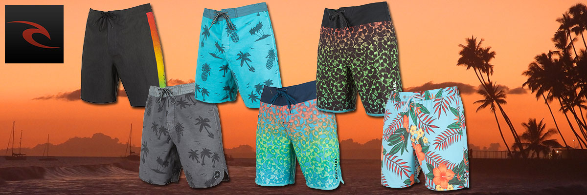 Rip Curl summer swim wear for men, women & boys available at Swiss Sports Haus 604-922-9107.