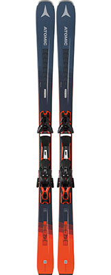 2020 Atomic Vantage 79 TI skis and bindings on sale at Swiss Sports Haus 604-922-9107.