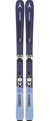 2020 Atomic Vantage 90 W women's skis on sale at Swiss Sports Haus 604-922-9107.