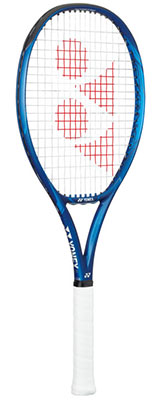 Yonex Ezone Feel strung tennis racquet available at Swiss Sports Haus 604-922-9107.