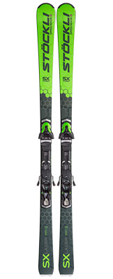2021 Stockli Laser SX skis & bindings available at Swiss Sports Haus 604-922-9107.