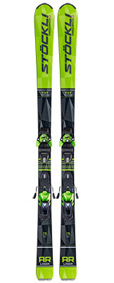 2021 Stockli Laser AR skis & bindings available at Swiss Sports Haus 604-922-9107.