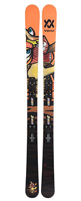 2021 Volkl Revolt junior twin tip skis available at Swiss Sports Haus 604-922-9107.