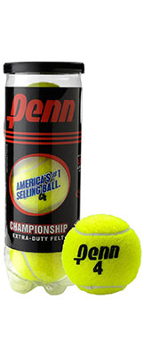 Penn Championship tennis balls available at Swiss Sports Haus 604-922-9107.
