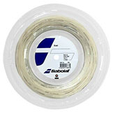 Babolat XCEL 130/16 Natural tennis string available with stringing service at Swiss Sports Haus 604-922-9107.