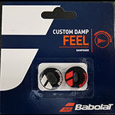 Babolat Custom Damp Feel tennis racquet dampener available at Swiss Sports Haus 604-837-3774.