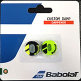 Babolat Custom Damp tennis racquet dampener available at Swiss Sports Haus 604-837-3774.