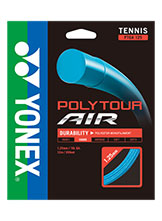 Yonex Polytour Air 125 tennis string available at Swiss Sports Haus 604-922-9107.