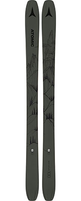 2021 Atomic Bent Chetler 100 skis available at Swiss Sports Haus 604-922-9107.