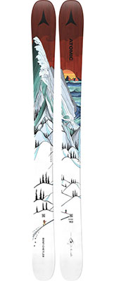2021 Atomic Bent Chetler Mini 133cm - 143cm junior skis available at Swiss Sports Haus 604-922-9107.