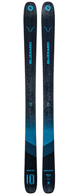 2021 Blizzard Rustler 10 skis available at Swiss Sports Haus 604-922-9107.