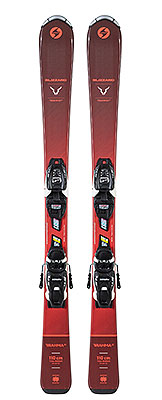 2021 Blizzard Brahama Junior skis & bindings available at Swiss Sports Haus 604-922-9107.