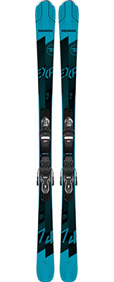 2021 Rossignol Experience 74 skis & bindings available at Swiss Sports Haus 604-922-9107.