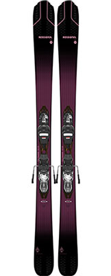 2021 Rossignol Experience 84 AI W Womens skis & bindings available at Swiss Sports Haus 604-922-9107.