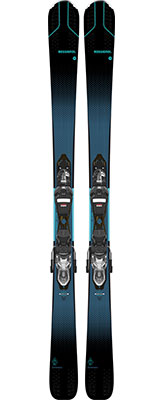 2021 Rossignol Experience 80 CI W Womens skis & bindings available at Swiss Sports Haus 604-922-9107.