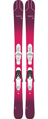 2021 Rossignol Experience Pro W junior grls skis & bindings available at Swiss Sports Haus 604-922-9107.