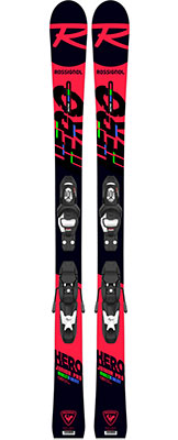 2021 Rossignol Hero Multi Event junior race skis available at Swiss Sports Haus 604-922-9107.
