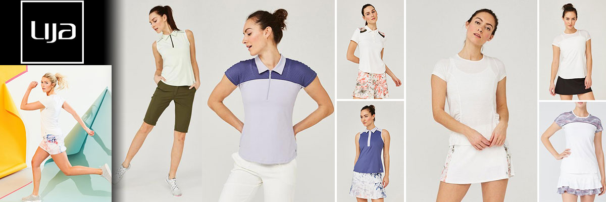 Lija Women's Tennis Wear & Whites available at Swiss Sports Haus 604-922-9107.
