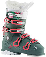 2022 Rossignol Alltrack Girl ski boots available at Swiss Sports Haus 604-922-9107.