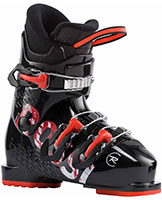 2022 Rossignol Comp J3 Junior three buckle ski boots available at Swiss Sports Haus 604-922-9107.