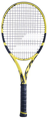 Babolat Pure Aero Performance Tennis Racket available at Swiss Sports Haus 604-922-9107.