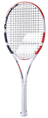 Babolat Pure Strike 16/19 Performance Tennis Racket available at Swiss Sports Haus 604-922-9107.