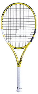 Babolat Boost A Tennis Racket available at Swiss Sports Haus 604-922-9107.