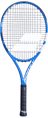 Babolat Boost D Tennis Racket available at Swiss Sports Haus 604-922-9107.
