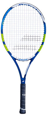 Babolat Pulsion 102 Tennis Racket available at Swiss Sports Haus 604-922-9107.