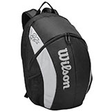 Wilson Roger Federer Team Tennis Backpack available at Swiss Sports Haus 604-922-9107.