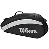 Wilson Roger Federer Team 3 Tennis Pack available at Swiss Sports Haus 604-922-9107.