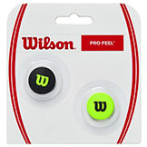 Wilson Pro Feel Dampener 2 Pack available at Swiss Sports Haus 604-922-9107.