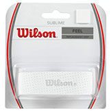 Wilson Sublime Grip - White available at Swiss Sports Haus 604-922-9107.