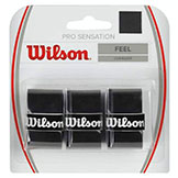 Wilson Pro Over Grip - Black available at Swiss Sports Haus 604-922-9107.