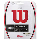 Wilson NXT 16 Tennis String Available at Swiss Sports Haus 604-922-9107.