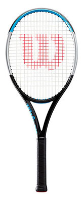 Wilson Clash 100L Ultra V3.0 Performance Tennis Racket available at Swiss Sports Haus 604-922-9107.