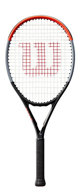 Wilson Clash 26 Junior Performance Tennis Racket available at Swiss Sports Haus 604-922-9107.