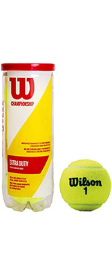 Wilson Extra Duty Tennis Balls Available at Swiss Sports Haus 604-922-9107.