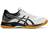 Asics Wome's Gel Rocket 9 Tennis Shoes available at Swiss Sports Haus 604-922-9107.