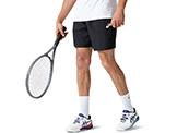 Asics Men's Court 7 Inch Short available at Swiss Sports Haus 604-922-9107.