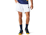 Asics Men's Match 7 Inch Short available at Swiss Sports Haus 604-922-9107.
