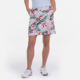 EP New York EPNY 19 Inch Botanical Tropical Swirl Skort available at Swiss Sports Haus 604-922-9107.