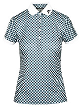 J. Lindeberg Tour Tech Slim Golf Polo Print available at Swiss Sports Haus 604-922-9107.