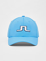 J. Lindeberg Angus Golf Cap Ocean Blue available at Swiss Sports Haus 604-922-9107.
